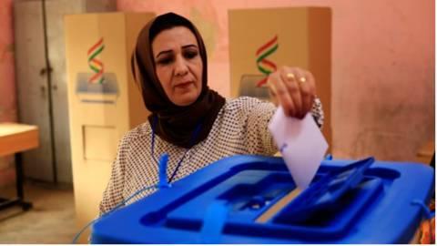 伊拉克库尔德自治区公投结果出炉:92%选民支持独立