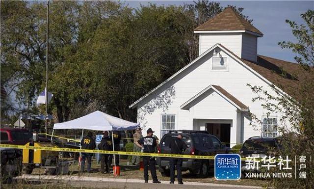 美一教堂发生枪击事件至少27人死