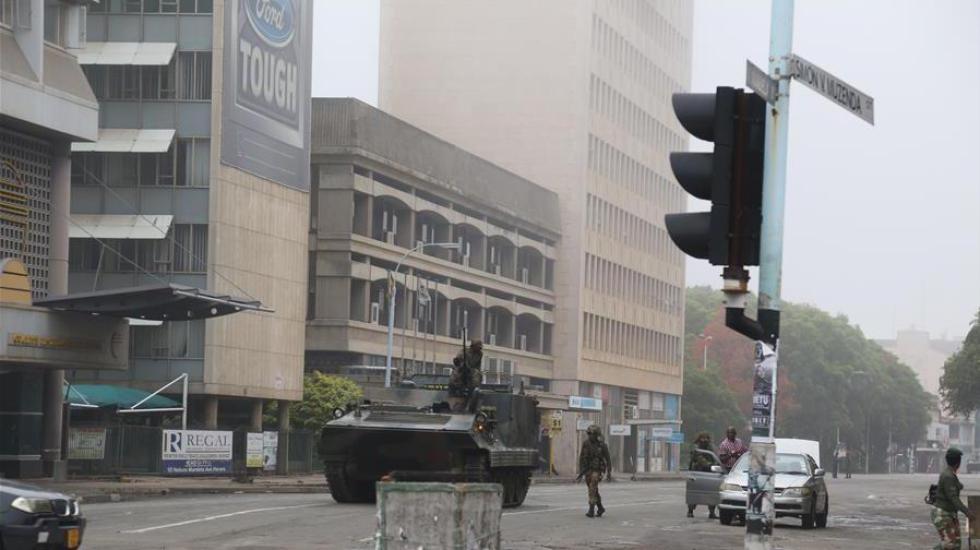 津巴布韦首都传出疑似爆炸声