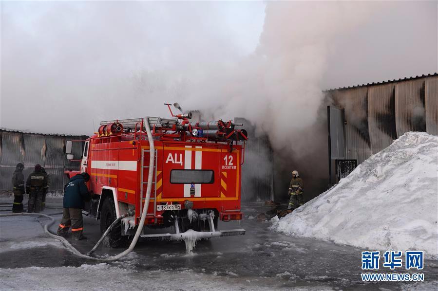 (国际)(1)俄一鞋厂起火 致包括中国人在内多人死亡