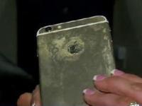 手机电池频频爆炸 身边的电子产品为何越来越不安全?